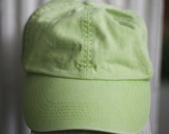 90's Lime Green Hat