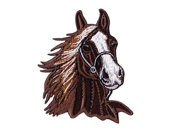 Horse Patch - Horse Embroidered Iron on Patch - Horse Applique
