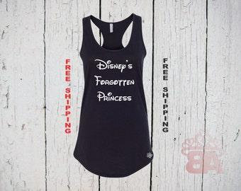 Disney's Forgotten Princess. Womens Racer Back Tank Top. FREE Shipping.