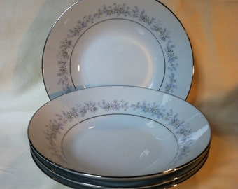 Noritake Marywood Soup Salad Bowl 2181 set of 4