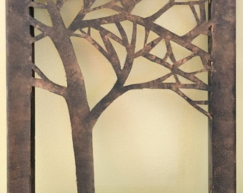 Canvas Tree Wall Art