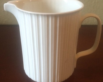 Rosenthal Germany Variations Ribbed Creamer