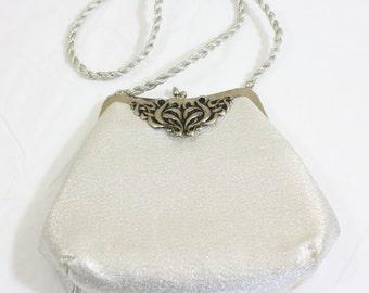Vintage Silver Handbag