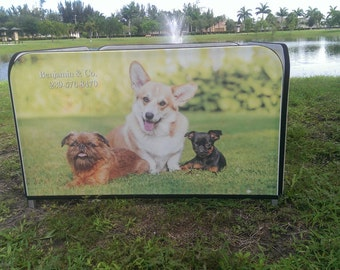 Puppy pen with custom image