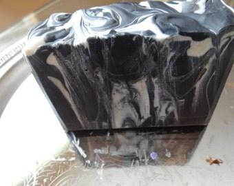 Black Tuxedo Soap