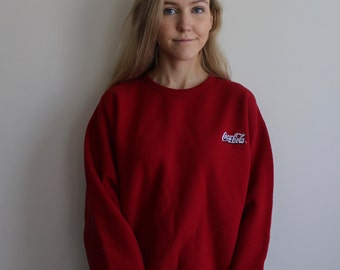 Vintage Coca Cola Pullover Sweater
