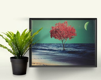 In the Deep - A4 Graphic Print. A Perfect Gift for the Home. Photographic Art Design.