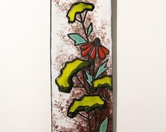 Ruscha Wall Tile ceramic wall decoration-734-Retro Vintage Interior