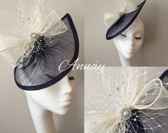 Ladies Tear drop fascinator