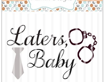 Later's Baby SVG ~ Cricut Explore, Vinyl Cutters, Die Cuts & more ~ Cut ~ Girly SVG