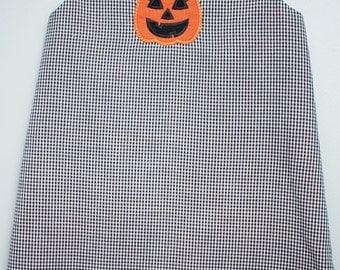 Jack O Lantern Halloween Sweetie Dress- Pumpkin Halloween Dress