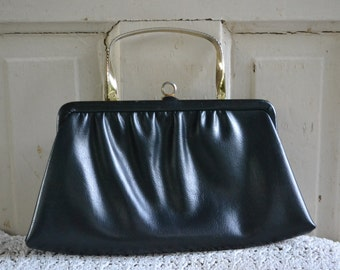 Vintage Ande Black with Gold Purse