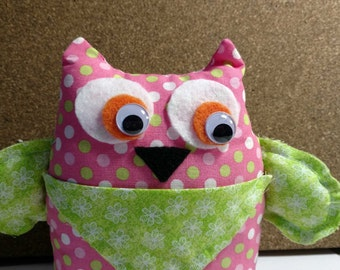 Owl Tooth Fairy Pillow (or small trinkets)