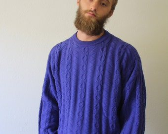 Vintage Purple Sweater