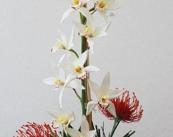 Orchid Protea Arrangement
