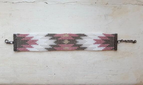 Hand made Beadloom Bracelet