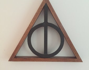 Harry Potter Deathly Hallows Wall Art