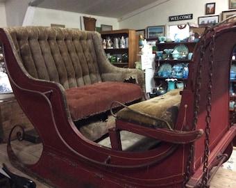Victorian One Horse Open Santa Sleigh
