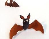 Autumn Bat - Dark Pumpkin
