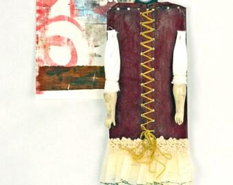 Mixed Media Paper Art Doll Bette
