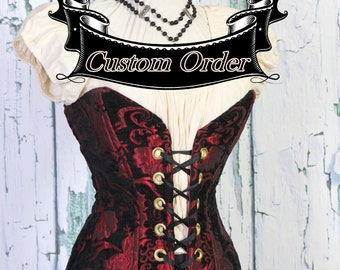 Custom Order Duchess Corset