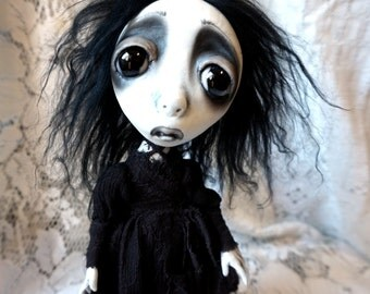 Loopy Gothic Goth Dark Art doll Ghost Spirit Sarah Lee