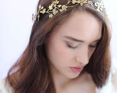Bridal headpiece - Wavy vintage inspired headband - Style 647 - Made to Order