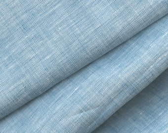 Cross Dyed Linen Fabric