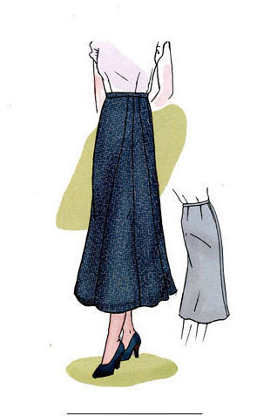 1930s Sewing Patterns- Dresses, Pants, Tops  1930s Stardust Skirt Sewing Pattern $13.00 AT vintagedancer.com