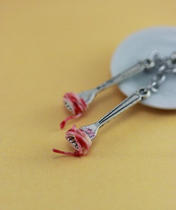 Spaghetti Earrings