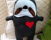 Sal ~ The Sloth Bummlie ~ Stuffingless Dog & Cat Toy  - Ready To Ship Today