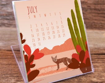 2017 Desk Calendar / Flora and Fauna