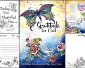 Gratitude to Go Coloring Book Guided Journal
