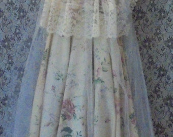 Reserved for Amy balance for custom wedding ivory cream floral by vintage opulence on Etsy