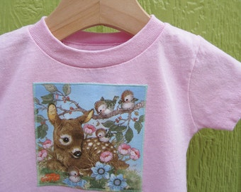 Woodland Creatures cotton t-shirt (18 mos)