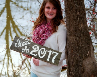 Class of 2017 Sign. Class Portrait Props Fun Picture Prop Sign Props Class Of Photos Signs for Photos Family Photos Kids Photos Pictures