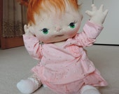 Jenni a One of a Kind Soft Sculpture Baby Doll by BeBe Babies