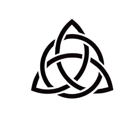 Celtic Trinity Knot Stencil Irish Stencil Mylar Stencil