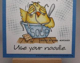 229 Chicken Noodle Soup Digi Stamp