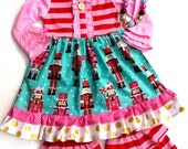 Christmas Nutcracker dress Momi boutique girl's dress