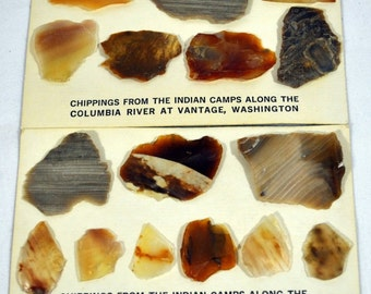 Indian Camps Chippings - Columbia River - Vantage Washington WA