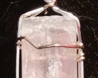 4176 Watermelon Tourmaline Pendant