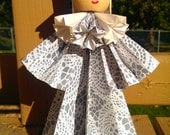 Lady Lace - origami doll