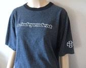SK8R // Vintage 90s Independent Skateboarding Shirt Truck Co Skater Tshirt 1990s Stussy Punk Supreme Thrasher Unisex Large