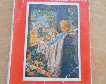 Vintage The Birds Christmas Carol 1929 • Vintage Christmas Book Kate Douglas Wiggin
