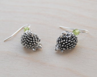 Adorable Teeny Tiny Hedgehog Earrings
