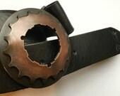 Copper Super Cog Belt Buckle ON SALE