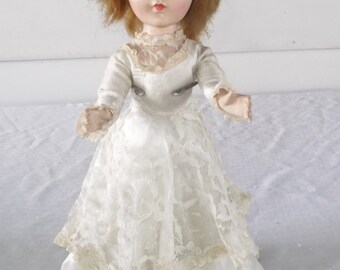 1950s Vintage American Character Sweet Sue Bride Doll in Original Dress 15 Inch TLC