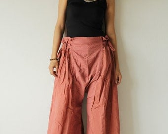 Wild side pants... mix silk ( M,L) 244