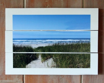 Beach Pallet Photo/ Art
